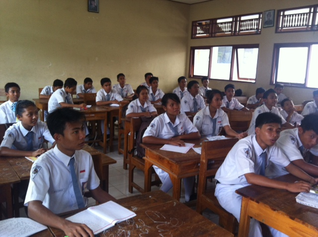 Balinese Classroom